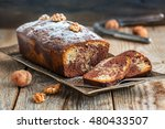 homemade chocolate cake with... | Shutterstock . vector #480433507