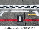number one pole position sign... | Shutterstock . vector #480451117