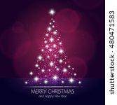 christmas card design | Shutterstock .eps vector #480471583