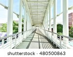 corridor easy way | Shutterstock . vector #480500863
