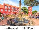 malacca  malaysia   august 12... | Shutterstock . vector #480504577