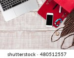 fashion women accessories.... | Shutterstock . vector #480512557