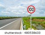 street sign on the highway | Shutterstock . vector #480538633