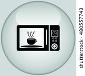 home appliances icon. microwave ... | Shutterstock .eps vector #480557743