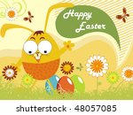 Happy Easter Day Scenery...