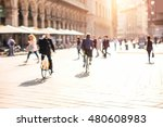 blurred background image with... | Shutterstock . vector #480608983