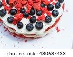 "homemade delishios cake ""red... | Shutterstock . vector #480687433"