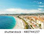 view of nice city  promenade... | Shutterstock . vector #480744157