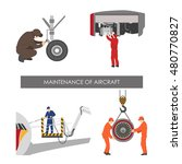 repair and maintenance of... | Shutterstock .eps vector #480770827