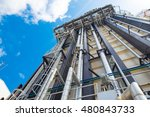 heat recovery steam gas or... | Shutterstock . vector #480843733