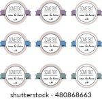 logo set | Shutterstock .eps vector #480868663