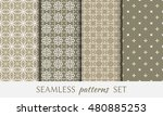 seamless geometric line...   Shutterstock .eps vector #480885253