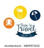 best summer vacation holiday... | Shutterstock .eps vector #480907633