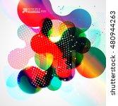 abstract background vector | Shutterstock .eps vector #480944263