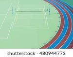 school sports field  track ... | Shutterstock . vector #480944773