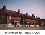 cottages in the old town in... | Shutterstock . vector #480947203