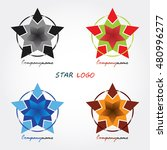 star vector design logo... | Shutterstock .eps vector #480996277