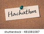 hackathon | Shutterstock . vector #481081087