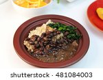 feijoada typical brazilian bean ... | Shutterstock . vector #481084003
