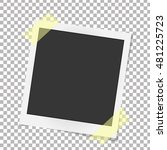 Realistic Vector Photo Frame O...