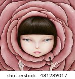 conceptual illustration or... | Shutterstock . vector #481289017