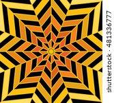 background sun pattern black... | Shutterstock .eps vector #481336777