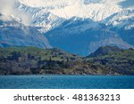 lake with mountain in the... | Shutterstock . vector #481363213