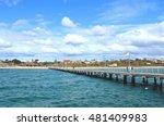 sea view at frankston pier ... | Shutterstock . vector #481409983