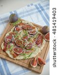 french flammkuchen with figs