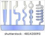 communicating vessels | Shutterstock .eps vector #481420093