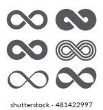 Infinity Sign. Infinity Flat...