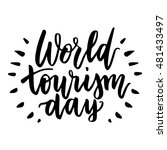 beautiful lettering for tourism ... | Shutterstock .eps vector #481433497