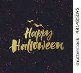 Happy Halloween Greeting Card....