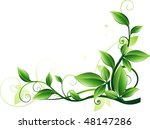 green background | Shutterstock .eps vector #48147286