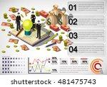 illustration of info graphic... | Shutterstock .eps vector #481475743