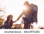 helping hand is always near.... | Shutterstock . vector #481495183