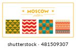 flat design colorful... | Shutterstock .eps vector #481509307