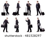 young businessman during...   Shutterstock . vector #481528297