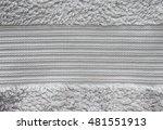 Gray Towel Texture . Natural...