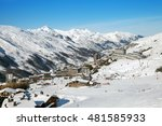 A Mountain Resort In European...