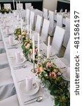 vintage wedding flower  | Shutterstock . vector #481586197
