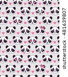 cute seamless pattern with... | Shutterstock .eps vector #481639807