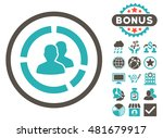 demography diagram icon with... | Shutterstock .eps vector #481679917