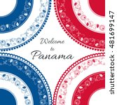 Welcome To Panama. Vector...