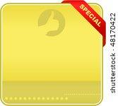 vector banner for sale. vector... | Shutterstock .eps vector #48170422