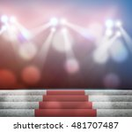 stage lighting background... | Shutterstock . vector #481707487
