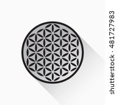 Flower Of Life Vector  Flat...