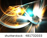abstract shiny festive... | Shutterstock . vector #481732033