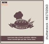 bakery graphic design   vector... | Shutterstock .eps vector #481732063