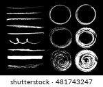 collection of graphic elements. ... | Shutterstock .eps vector #481743247